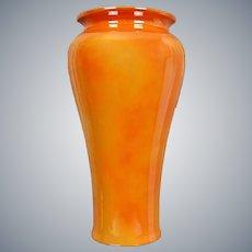 """Cowan Pottery 11"""" Vase #569, """"Marigold"""" Lustre, Circa 1922"""