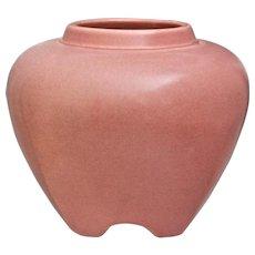 Rookwood Pottery Rose Jar #1322, Pink, 1920