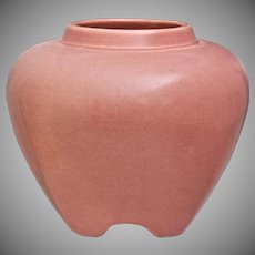 Rookwood Pottery Rose Jar #1322, Pink, 1920