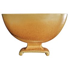 """Cowan Pottery Pillow Vase #798, """"October"""" Glaze, Ca. 1928"""