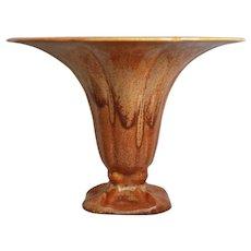 "Cowan Pottery ""Morning Glory"" Vase, ""October"" Glaze, Ca. 1927"