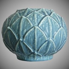 Scarce Rookwood Pottery Production Vase #2354, Blue Mat, 1931