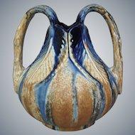 Faiencerie de Thulin Vase #77, Ca. 1940