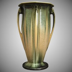 """Roseville Pottery Russco Vase #701-10"""", Green, c. 1934"""