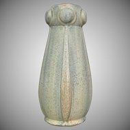 """Faiencerie de Thulin 10"""" Vase #115, Ca. 1940"""
