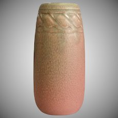 Rookwood Pottery Production Vase #2319, Pink Mat, 1918
