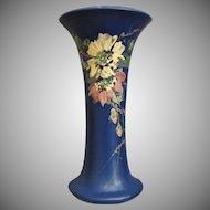 "Weller Pottery Hudson Blue & Decorated 10"" Vase, Ca. 1923"