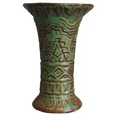 Weller Pottery Orris Vase, Circa 1915