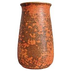 Cowan Pottery Vase #V-46, Oriental Red, Ca. 1930