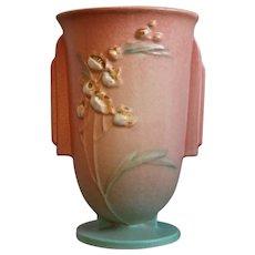"Roseville Pottery Ixia Vase #852-6"", Pink, Circa 1937"