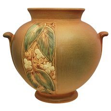"""Weller Pottery Velva 6"""" Vase, Ca. 1930"""