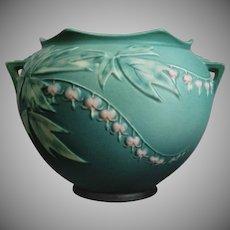 "Roseville Pottery Bleeding Heart Jardinière #651-7"", Green"