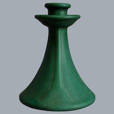 """Roseville Pottery Matt Green 6"""" Candlestick #1005, Circa 1916"""