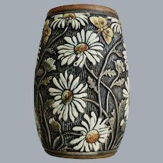 """Weller Pottery Knifewood 7"""" Vase #417, Circa 1918"""