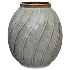 "Nicodemus Pottery 6"" Vase #70,  Circa 1960"