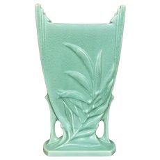 "Roseville Pottery ""Crystal Green"" Pillow Vase #943-10"", Circa 1939"
