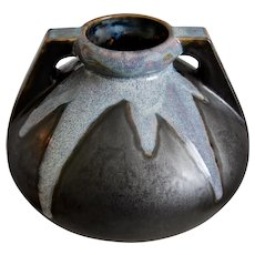 Denbac Pottery Arts & Crafts Style Vase #494, Circa 1935