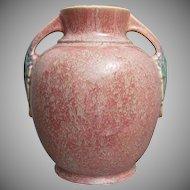 Roseville Pottery Tuscany Vase #345-8, Pink
