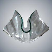 """FontanaArte Cartoccio """"Quatrefoil"""" Vase, Circa 1988"""
