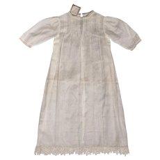 Vintage 1920s Christening Dress Unused w Original Tag E Corbiere Paris