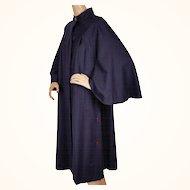 Vintage Mod Cape Style Coat 1960s Canadian Design London Look Jules for Progress Size M / L