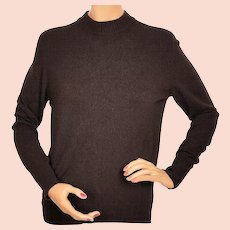 f83ad780f9c Vintage Ballantyne Cashmere Sweater Brown Pullover Style Made in Scotland  Ladies Size L
