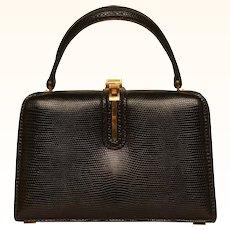 Vintage 1950s Fernande Desgranges Box Purse Geneva Paris Nice Luxury Brand