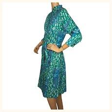 Vintage 1990s Averardo Bessi Cotton Shirt Dress Miss Bessi Line Italy Size L 16