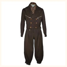 Vintage 1930s Ski Suit Laurentian Cloth Canadian Skiing Mens Size M
