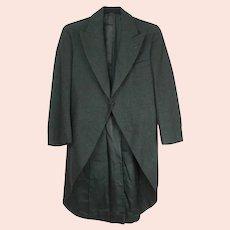 Antique Mens Morning Coat Frock Coat Size Small