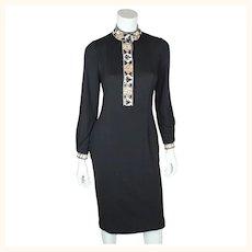 Vintage 1990s Emilio Pucci Dress 100% Cashmere Size 6