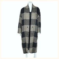 Vintage 80s Wool Coat Laurel by Escada Ladies Size M 40