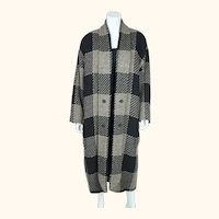 Vintage 80s Wool Coat Laurel by Escada Ladies Size M 40