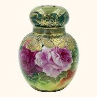 Antique Nippon Porcelain Sugar Shaker Nutmeg Powder Muffineer