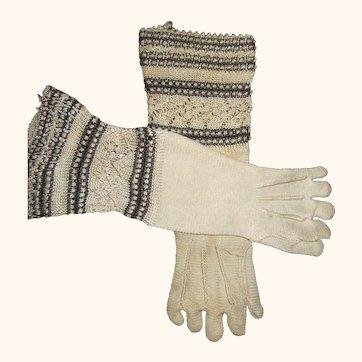 French Fashion gloves--lovely-original HTF