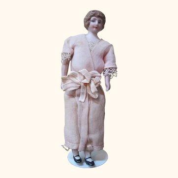 Dollhouse bisque doll-original