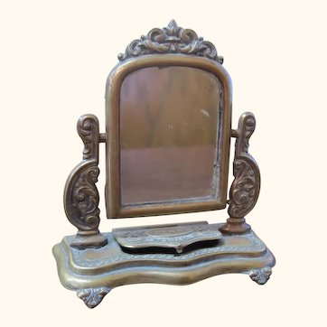 Dresser mirror for French Fashion or German Bisque doll