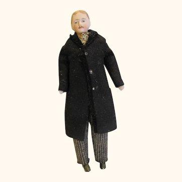 Gentleman dollhouse doll-all original