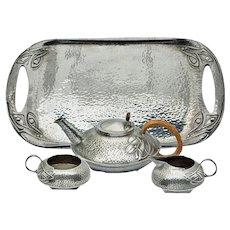 Liberty Tea Set C.1906 Arts & Crafts Archibald Knox
