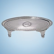 Georgian Silver Waiter Salver, London 1801 Urquhart and Hart.
