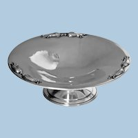 Carl Poul Petersen Sterling Silver Dish, Montreal C.1950