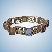 H. Stern 18K multi gem Bracelet, 20th century