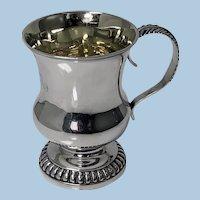 Scottish Aberdeen Provincial Silver Mug Tankard, George Booth C.1810-20.