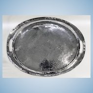 Very large Liberty and Co Polished Pewter Tray, C.1900