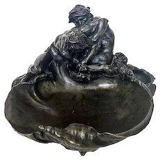 Gustave Frédéric Michel 1851-1924 Les Lutteurs.The Wrestlers, C.1900