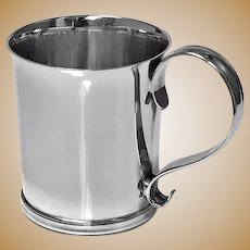 Tiffany Sterling Silver Mug Tankard, C.1940