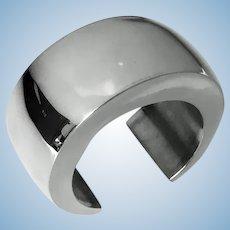 Los Ballesteros Sterling Silver Bangle Cuff Bracelet Mexican C.1980