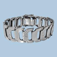 1950's Scandinavian Silver Bracelet Anton Michelsen