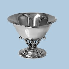 Georg Jensen Sterling Bowl No. 6, designed by Johan Rohde