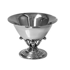 Georg Jensen Sterling Bowl No. 6, designed by Johan Rohde